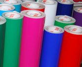 Solid color cut vinyl rolls